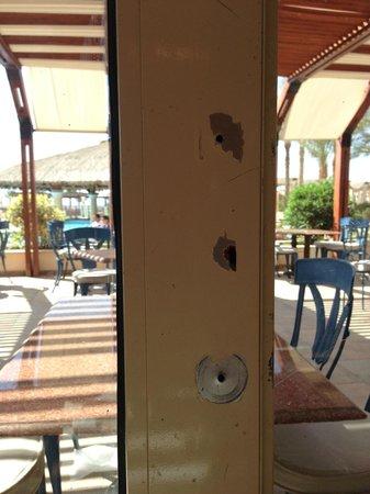 AquisTaba Paradise Resort: столовая