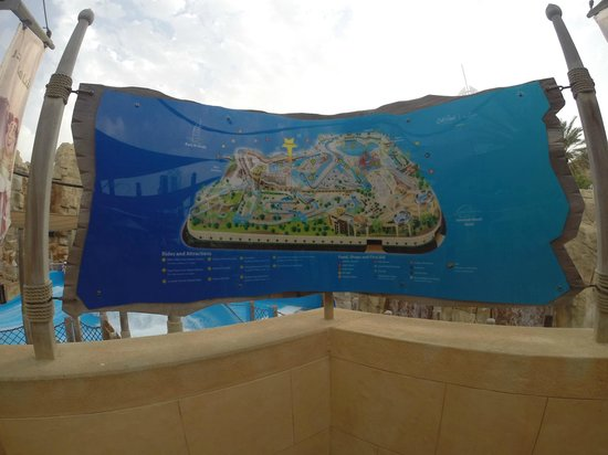 Wild Wadi Water Park: plan