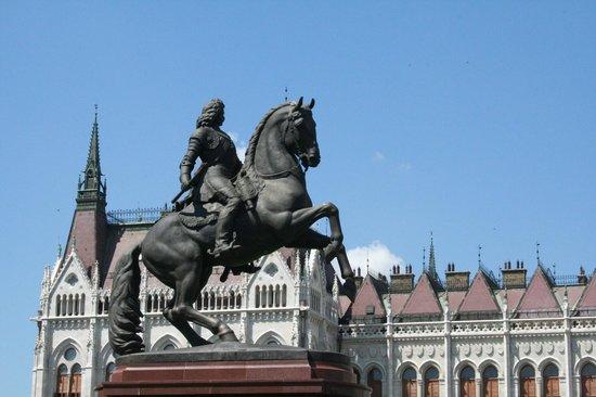 Statue of Ferenc Rakoczi