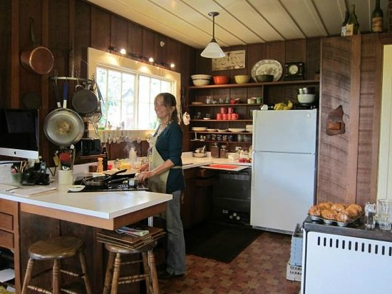 Beltane Ranch: kitchen downstairs