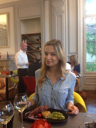 La Villa Margot: Magret de canard et gratin au foie gras !