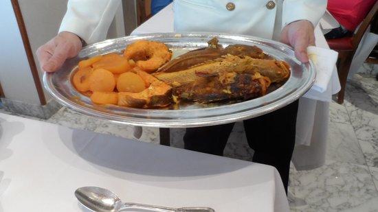 Restaurant Chez Michel: Presentazione piatto