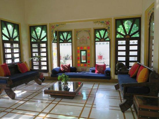 Hotel Mahendra Prakash: hall