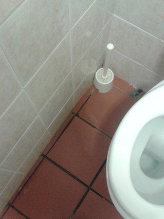 Hotel Villa del Cardinale : Acqua nel bagno dappertutto