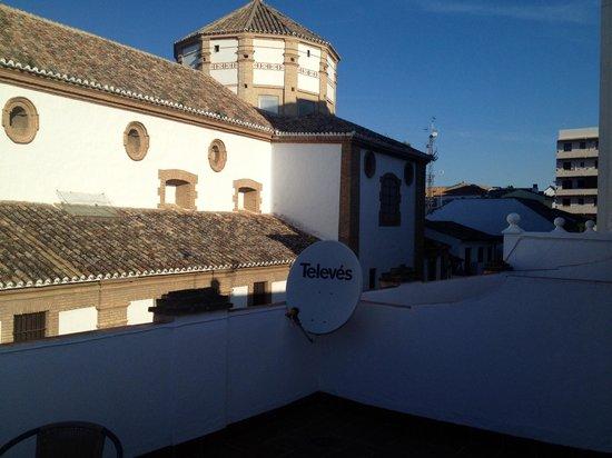 Hotel Colon : Вид с террасы