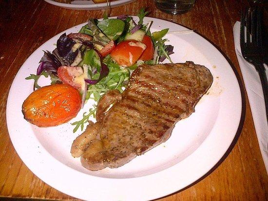 South Milford Hotel: steak