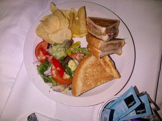 South Milford Hotel: very nice toastie