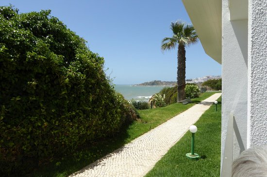 Hotel Alisios : View right from Room 122