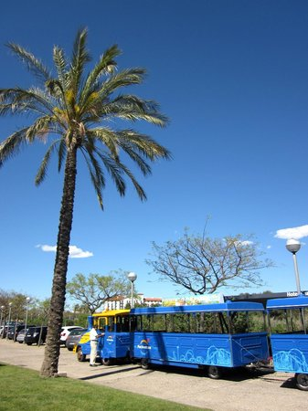 PortAventura Hotel Caribe : Free shuttle in front of hotel
