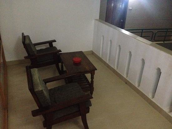 Jeevan Beach Resort: balcony