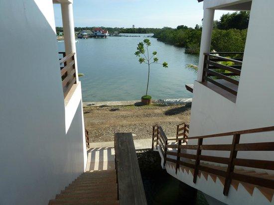 Papa Kit's Marina & Fishing Lagoon : The Steps out