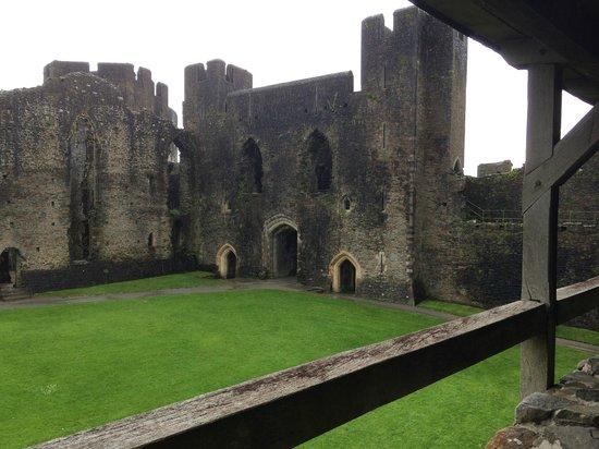 Caerphilly Castle: Castle