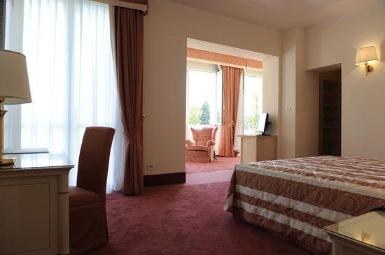 Ermitage Bel Air : panoramic suite