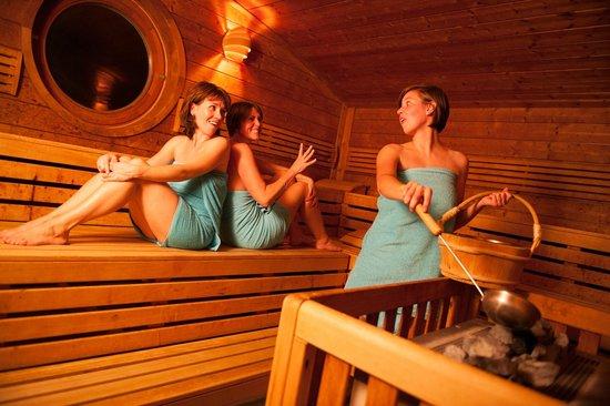 Spirit & Spa Hotel Birkenhof am Elfenhain (Ferienhotel Birkenhof KG): Blockhaussauna
