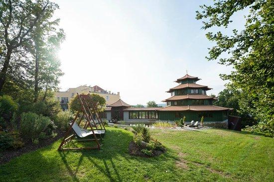 """Spirit & Spa Hotel Birkenhof am Elfenhain (Ferienhotel Birkenhof KG): Wellnesspagode """"SinnesReich"""""""