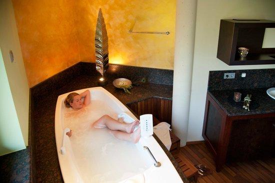 Spirit & Spa Hotel Birkenhof am Elfenhain (Ferienhotel Birkenhof KG): Relaxbad