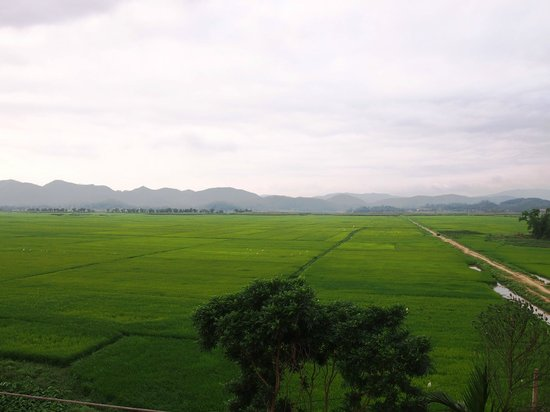 Phong Nha Farm Stay: View from Rooftop