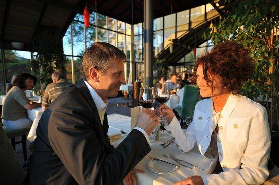 """Spirit & Spa Hotel Birkenhof am Elfenhain (Ferienhotel Birkenhof KG): Restaurant """"GaumenZauber"""""""