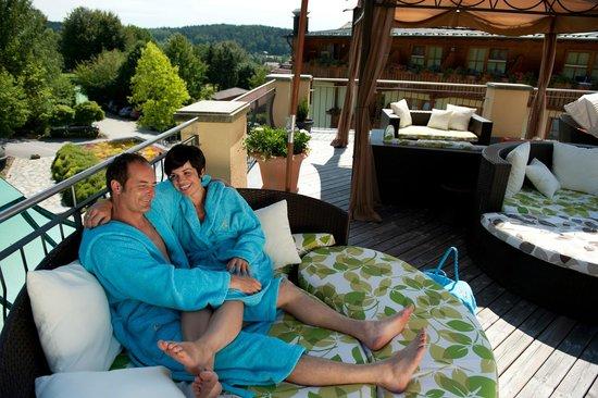 Spirit & Spa Hotel Birkenhof am Elfenhain (Ferienhotel Birkenhof KG): Romantikdeck