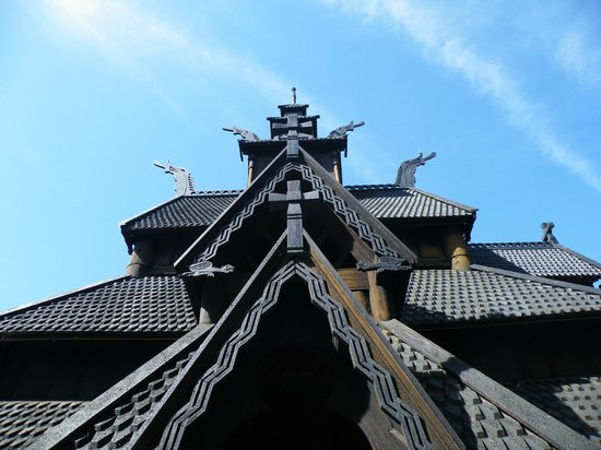 The Norwegian Museum of Cultural History: Gol Stave Church with its dragons to scare away evil spirits