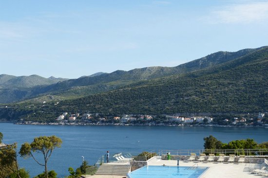 Valamar Argosy Hotel: View from our room