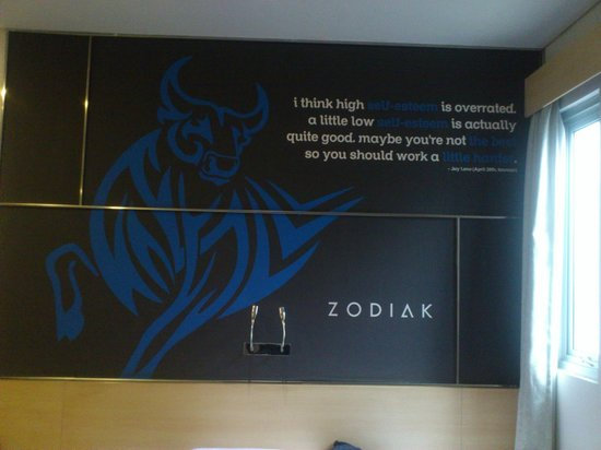 Zodiak @ Paskal: Nice saying