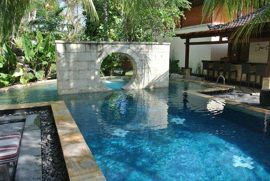 Nusa Dua Beach Hotel & Spa: The pool at the spa - perfect retreat