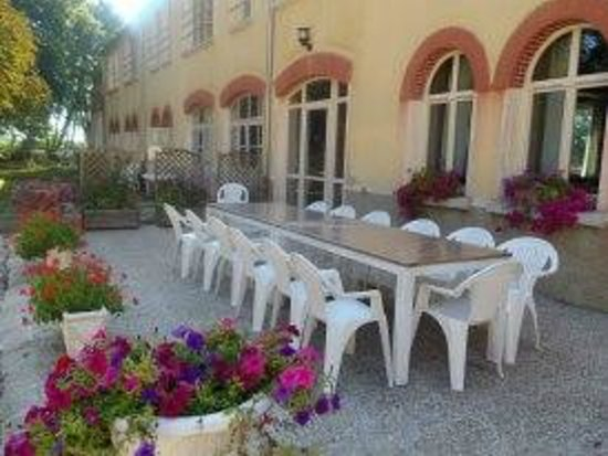 La terrasse photo de la maison du parc dijon tripadvisor for Parc expo dijon