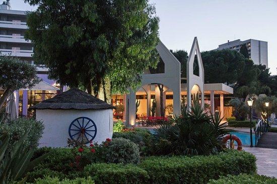 Dionysos Hotel: Poolbereich