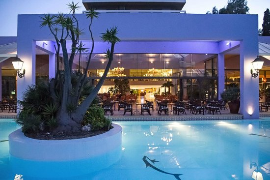 Dionysos Hotel: Blick in die Lobby