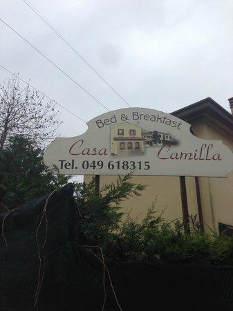 B&B Casa Camilla: insegna