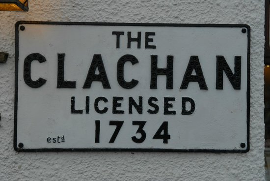 The Clachan Inn: Oldest licensed of Scotland