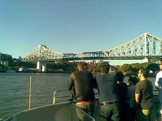 CityCat Ferry : Storey Bridge