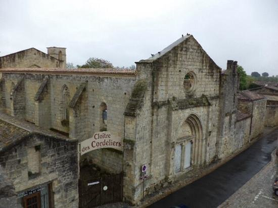 Maison de la Commanderie: вид с балкона