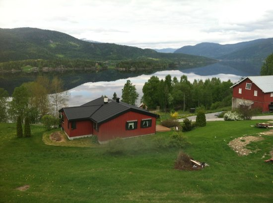 The Bergen Railway: Picturesque farm in central Norway