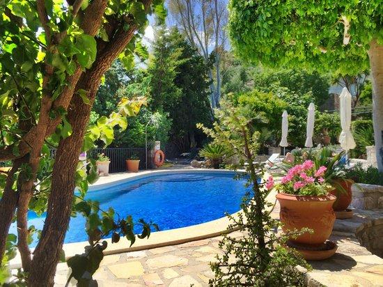 Can Furios Hotel: Pool & Garten