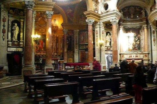 Real Chiesa di San Lorenzo: Real Iglesia de San Lorenzo: Torino: Italia: altare