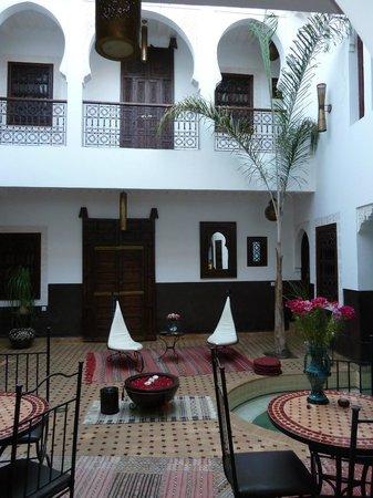 Riad Charme d'Orient : patio
