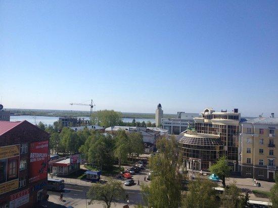 Dvina Hotel: Вид на р.Северная Двина
