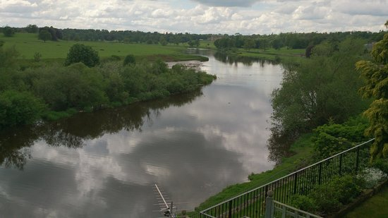 View of River Tweed from Duncan House
