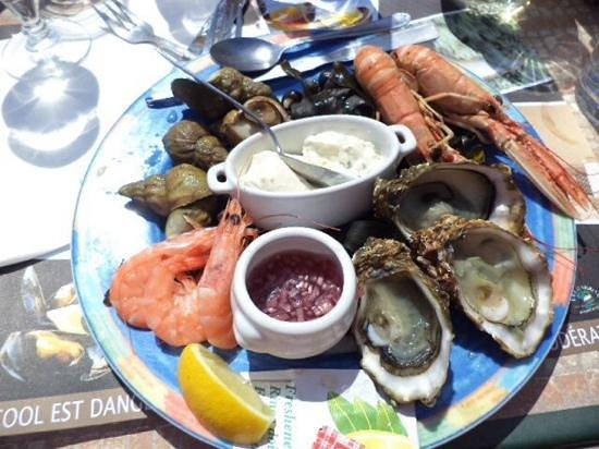 Les Goélands : наш обед
