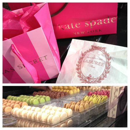 Ladurée New York Madison : Perfect afternoon snack after shopping on Madison and 5th