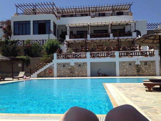 Aegean Village Hotel & Bungalows: View of the pool. Amazing hotel