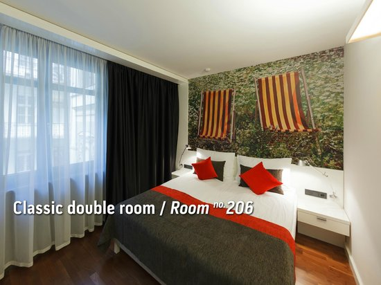 Bohem Art Hotel: Classic Double room / Room no. 206