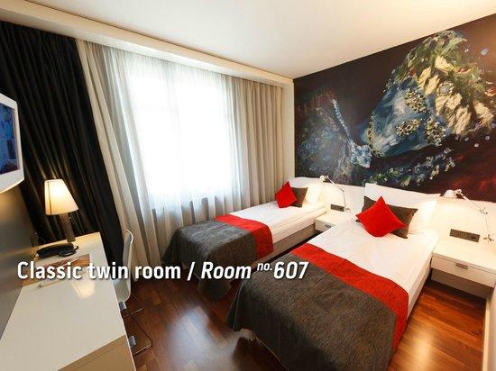 Bohem Art Hotel: Classic Twin room / Room no. 607