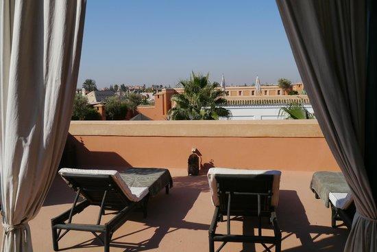 Riad Samarkand: Terrasse