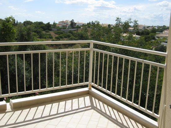 Quinta Polaris Garvetur: balcony view looking S. towards town/sea