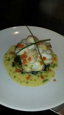 Pier 1: Monk fish special of the day.