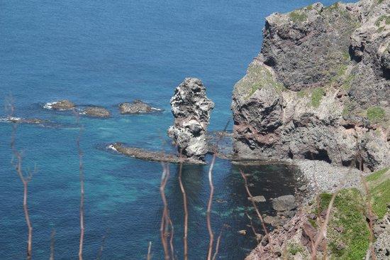 Mt. Yotei : Natural obelisk