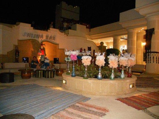 Royal Grand Sharm Hotel: кальянная